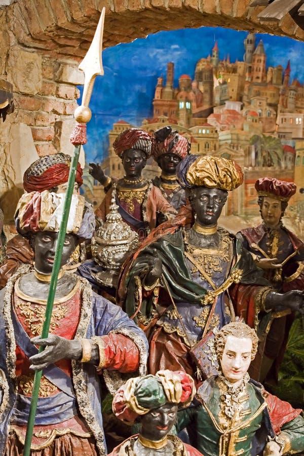 Bethlehem barroco en Praga imagenes de archivo