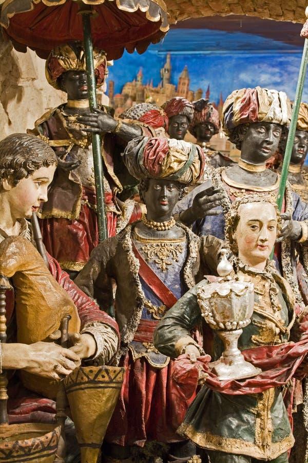 Bethlehem barroco en Praga imagen de archivo