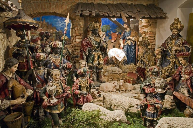 Bethlehem barroco en Praga imagen de archivo libre de regalías