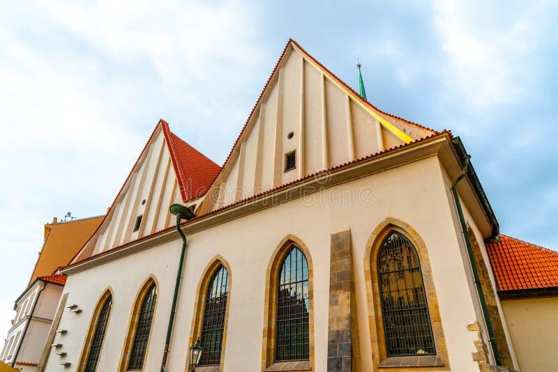Bethlehem Chapel, Czech: Betlemska kaple, in Old Town of Prague, Czech Republic.  royalty free stock photography
