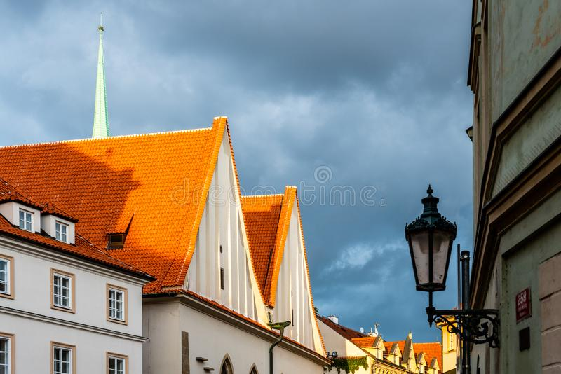Bethlehem Chapel, Czech: Betlemska kaple, in Old Town of Prague, Czech Republic.  royalty free stock images