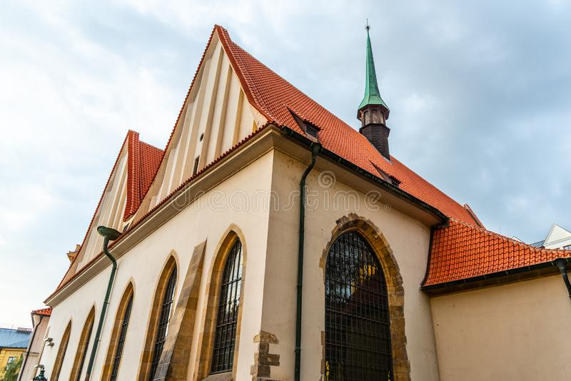 Bethlehem Chapel, Czech: Betlemska kaple, in Old Town of Prague, Czech Republic.  stock photos