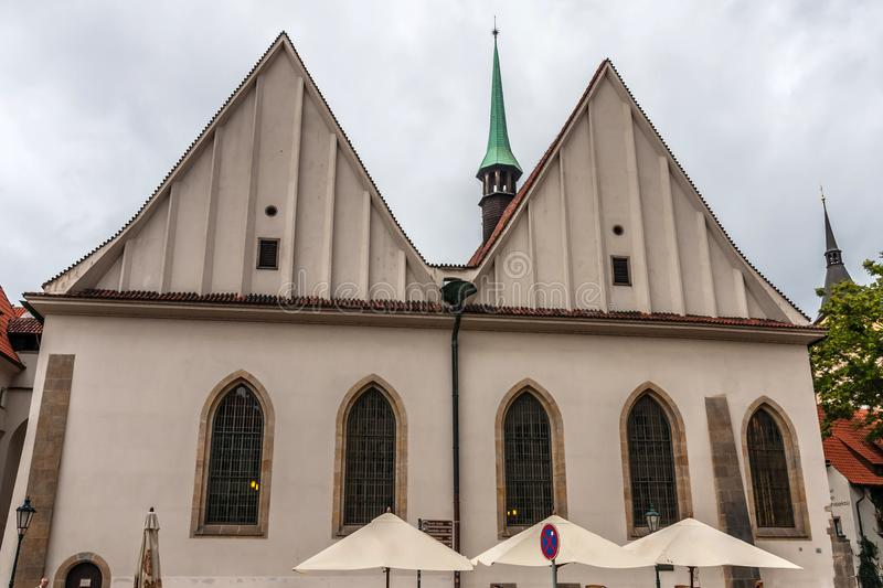 The Bethlehem Chapel, Prague. The Bethlehem Chapel is a medieval religious building in the Old Town of Prague, Czech Republic, notable for its connection with royalty free stock photos