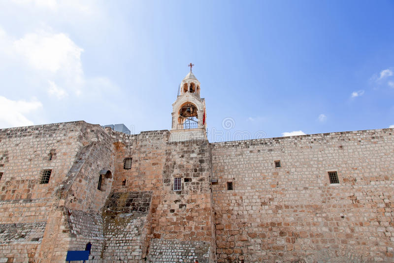 bethlehem kyrklig nativitypalestin arkivbilder