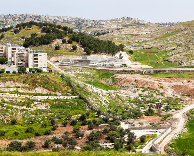 Bethlehem na Terra Santa fotos de stock royalty free