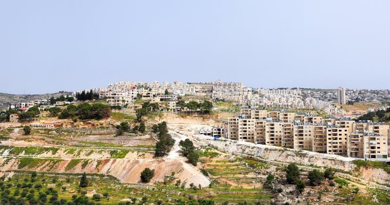 Bethlehem panorama stock photo