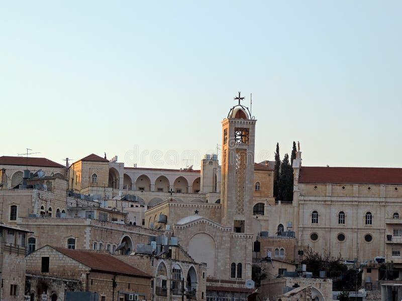 Bethlehem-Skyline stockfotografie