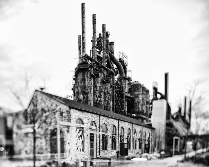 Bethlehem steel factory stock photo