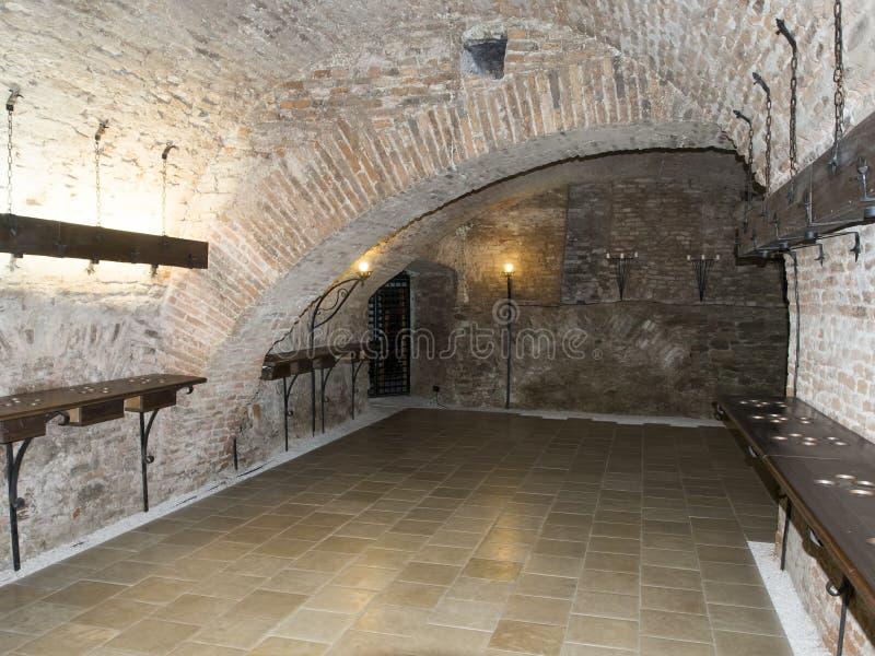 Bethlen哈勒城堡,罗马尼亚 库存图片