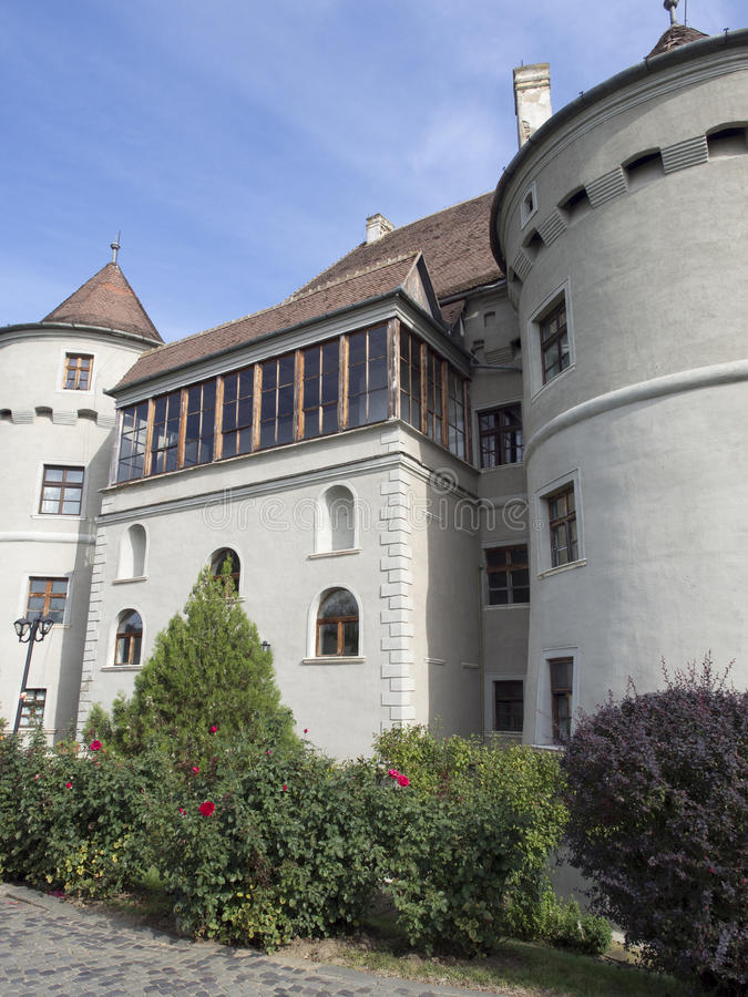 Bethlen哈勒城堡,罗马尼亚 免版税库存图片