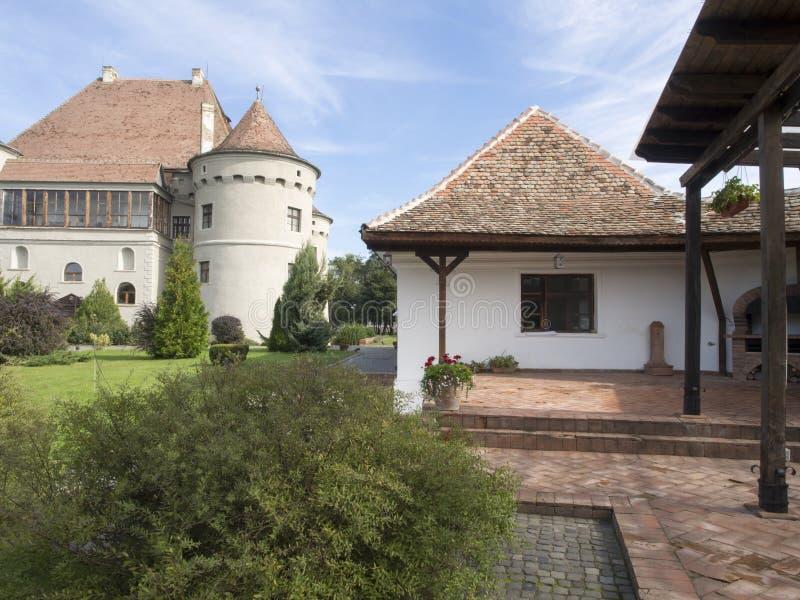 Bethlen哈勒城堡,罗马尼亚 库存照片