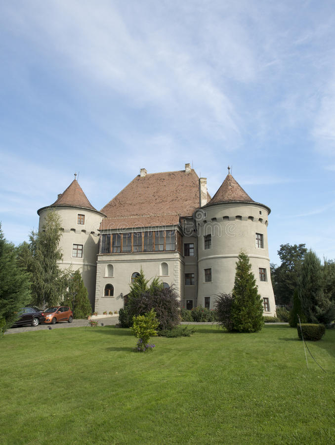 Bethlen哈勒城堡,罗马尼亚 免版税库存照片