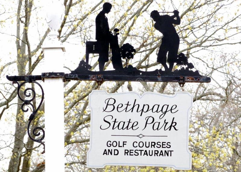Bethpage czerni pole golfowe zdjęcie stock