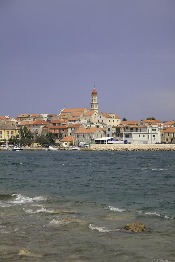 Betina, Kroatien stockfoto
