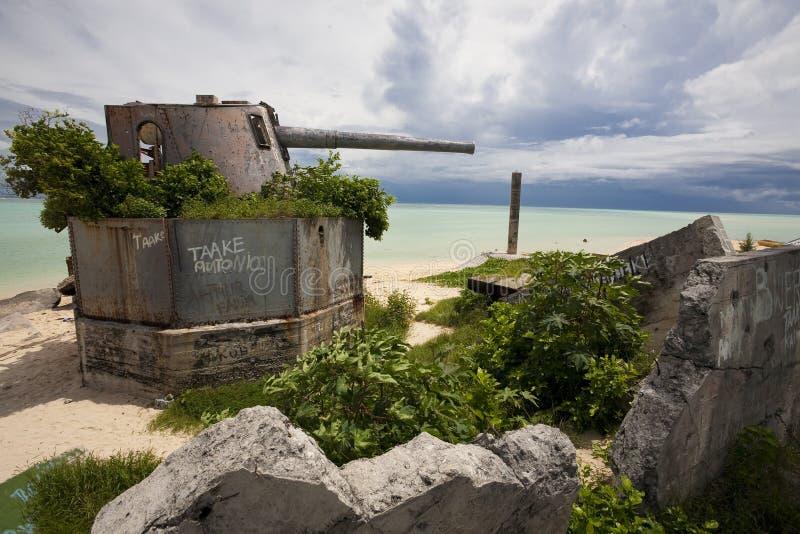 Betio, Atoll Tarawa lizenzfreie stockfotos