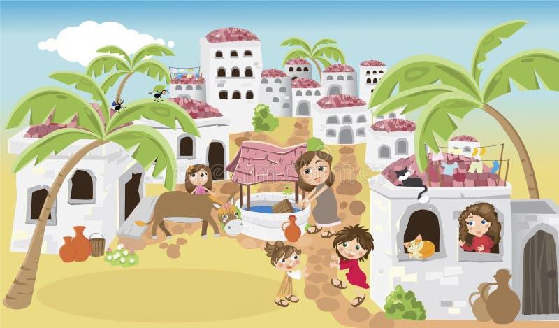 Betlemme royalty illustrazione gratis