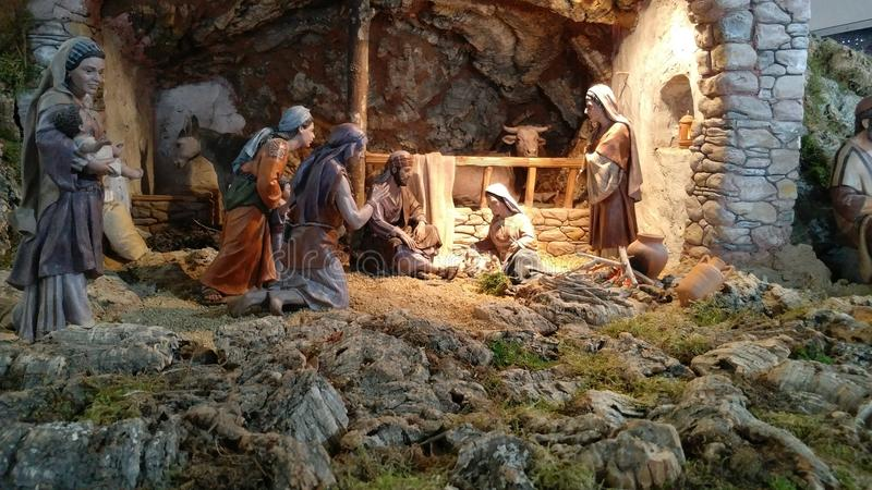 Betlemme per il Natale, fotografia stock