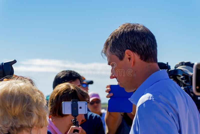 Beto O 'Rourke royalty-vrije stock foto