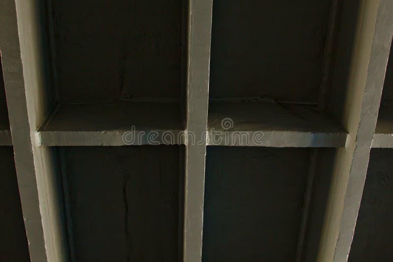 Betonów promienie most geometryczna tekstura obraz royalty free