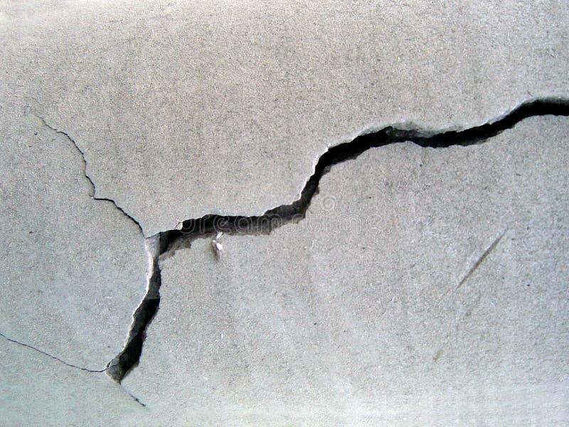 beton pękający fotografia stock