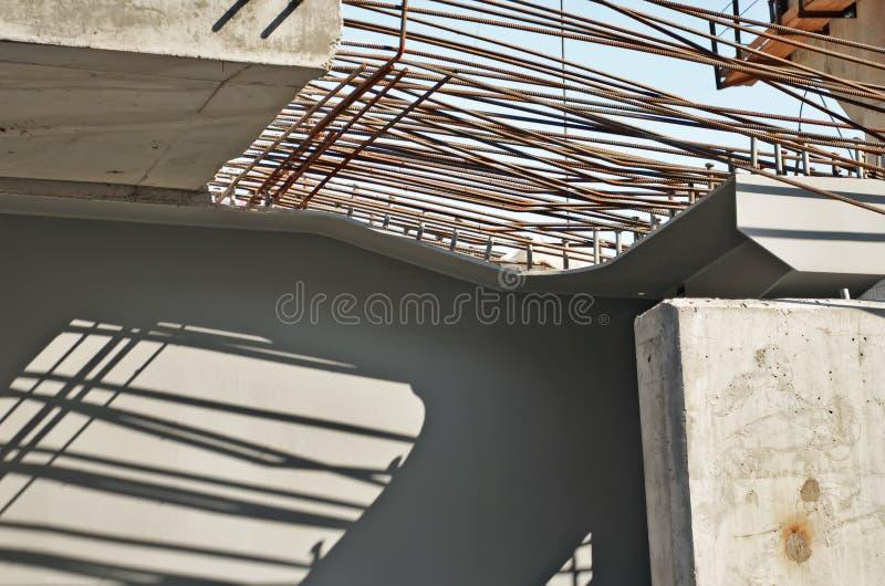 beton wzmacniająca struktura zdjęcie royalty free