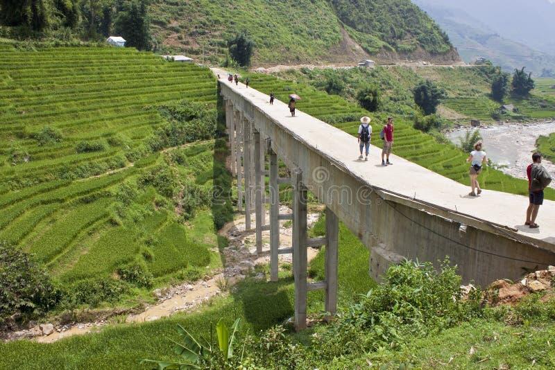 Betonbrücke stockfotos