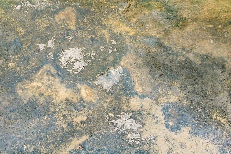 Betong för golv för skada för textur för tappningväggcement gammal för bakgrund fotografering för bildbyråer
