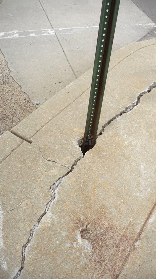 betong skadade arkivfoton