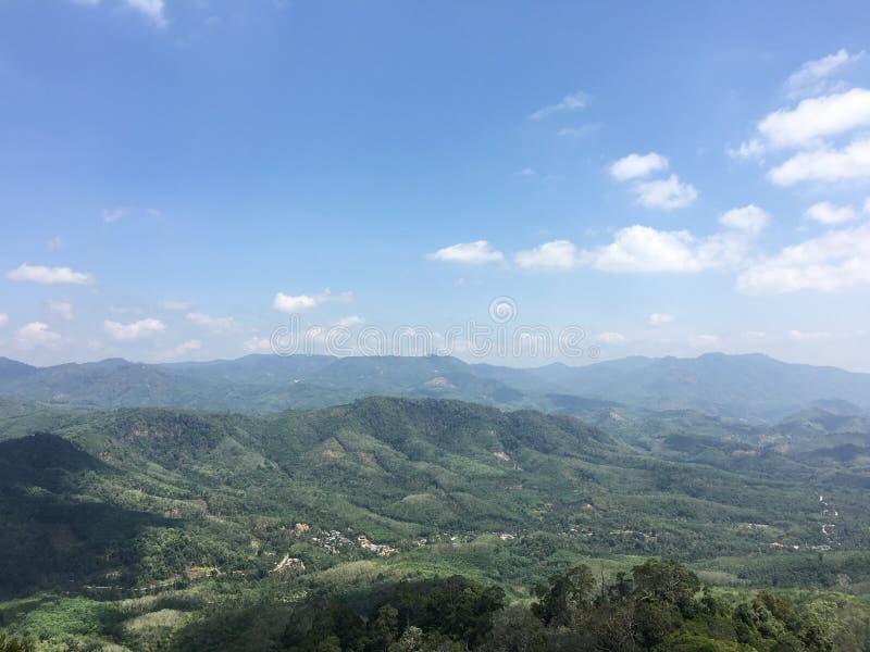 Betong yala halny wzgórze w Thailand fotografia royalty free