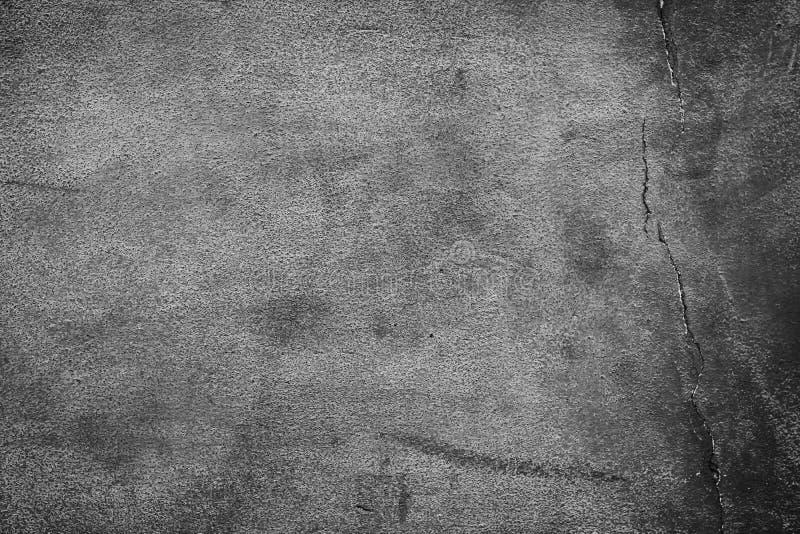 Betongvägg för ren kraftfull för tappning sprucken arkivfoton