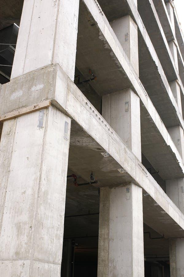 Betonkonstruktion lizenzfreie stockfotos
