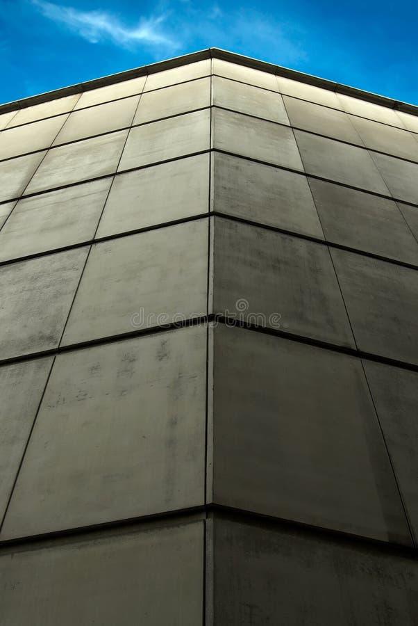 Betonmauer stockfoto
