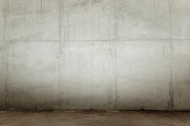 betonowa ściana zdjęcie stock