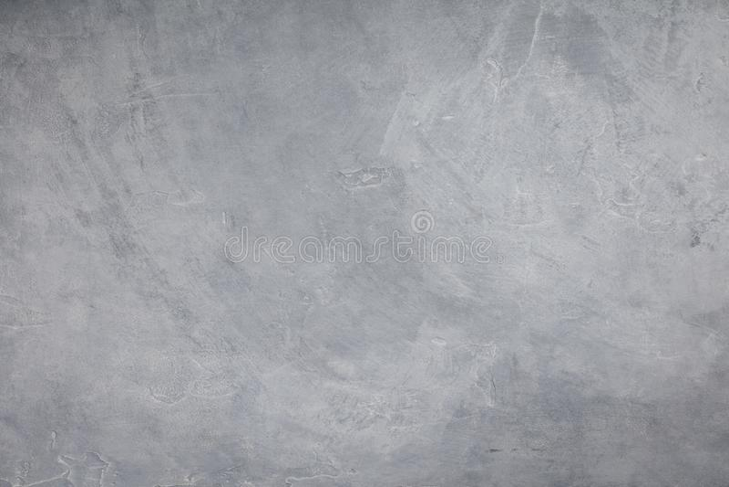 Betonowa ściana jasnopopielaty kolor, cementowy tekstury tło zdjęcie stock
