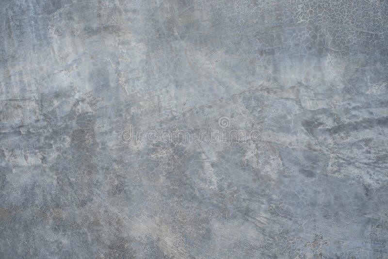 Betonowa ściana, starego cementowego tekstura koloru popielata ściana dla tła fotografia stock