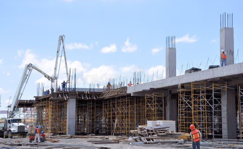Betonowa budowa zdjęcie stock