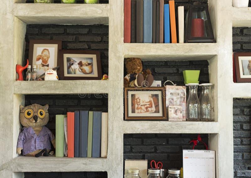 Betonowa półka obraz stock