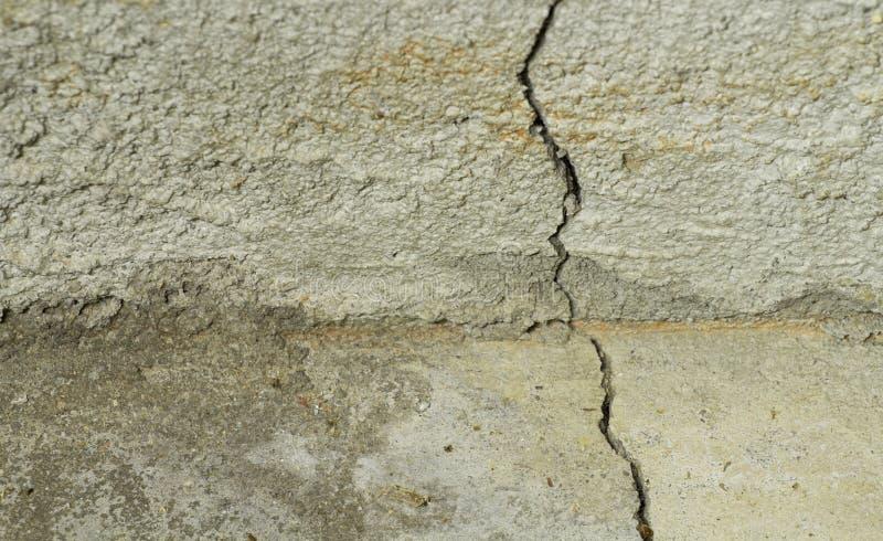 betonowa pęknięcia podłoga podstawa zdjęcie royalty free