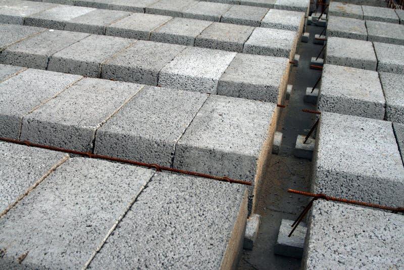 betonowe elementy zdjęcie stock