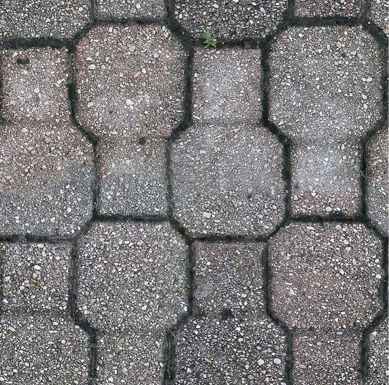 Betonowego bruku tekstura royalty ilustracja