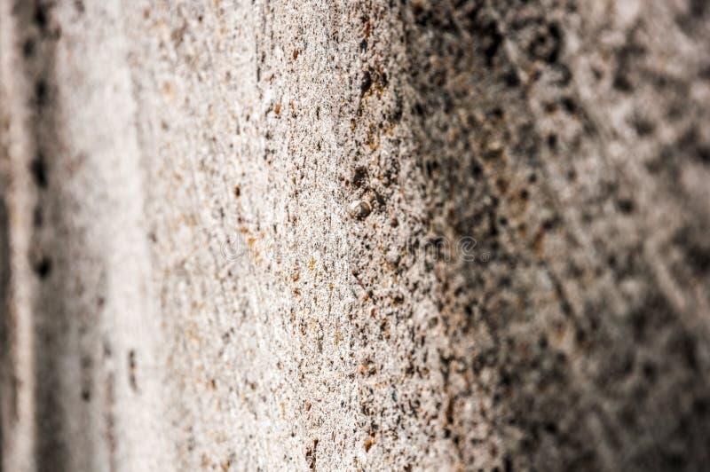Betonowej ściany perspektywy tło Zako?czenie strza? obrazy stock