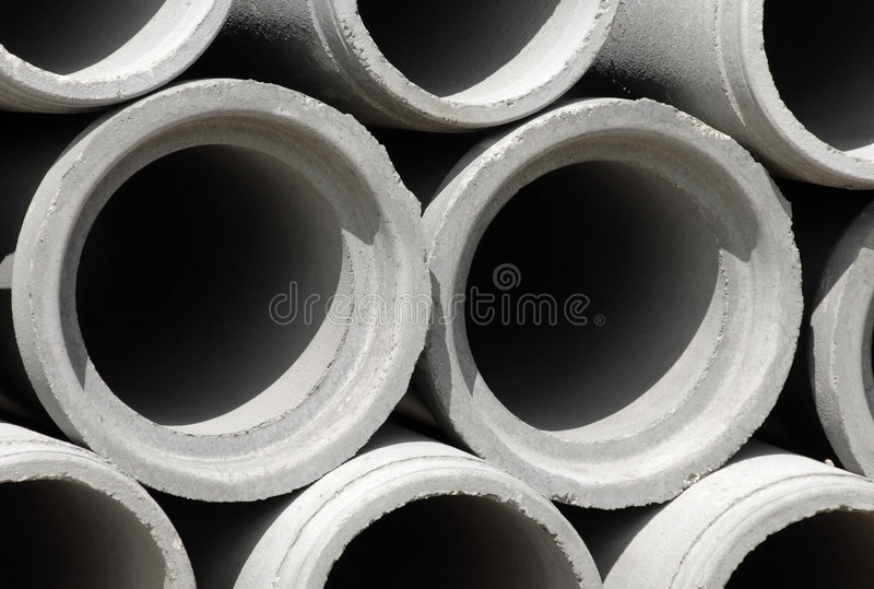 betonowej budowy drenażowy drymb miejsce fotografia royalty free