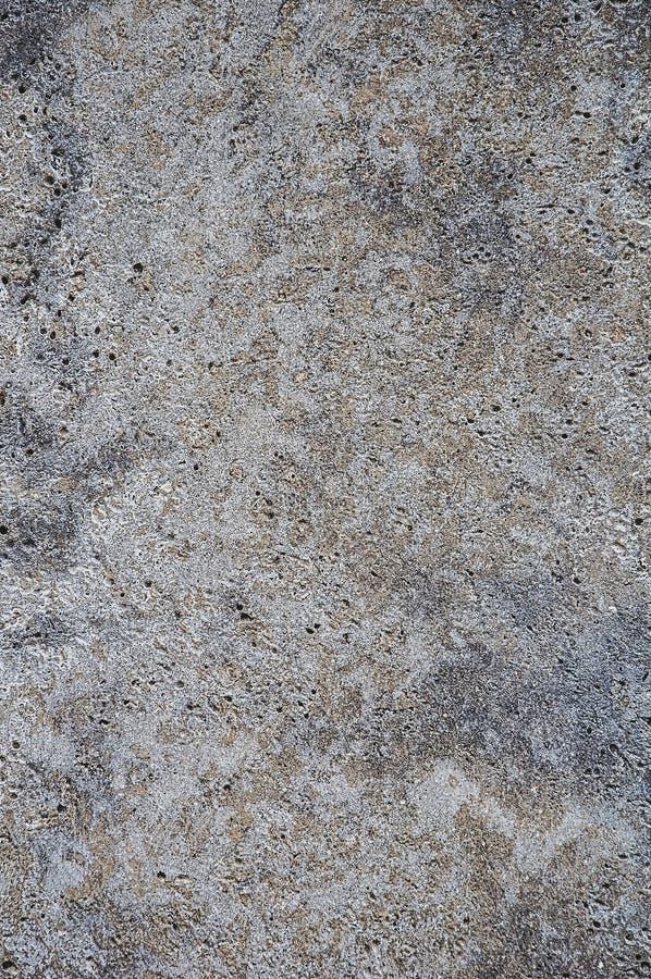 betonowej iluminaci szorstkiej powierzchni tekstury typowy nierówny mundur Szarość i brąz z błękitnawym textured tłem Mali krater zdjęcie stock