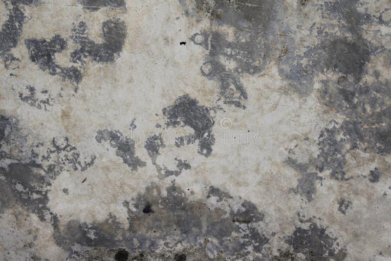 Betonowej podłoga cementu tekstury Brudny tło fotografia stock