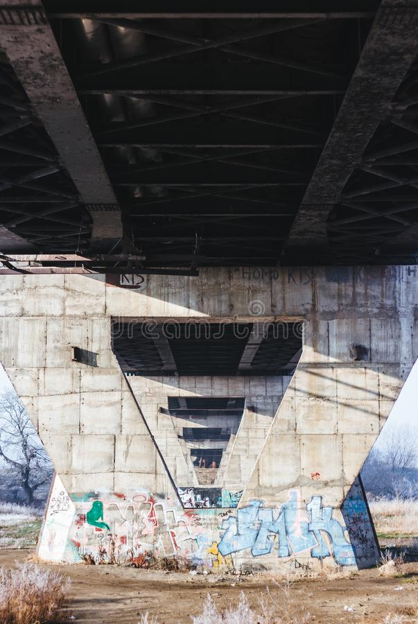 Betonowi giganty zdjęcie stock