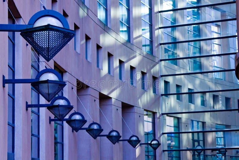 betonowy architektury szkło obraz royalty free