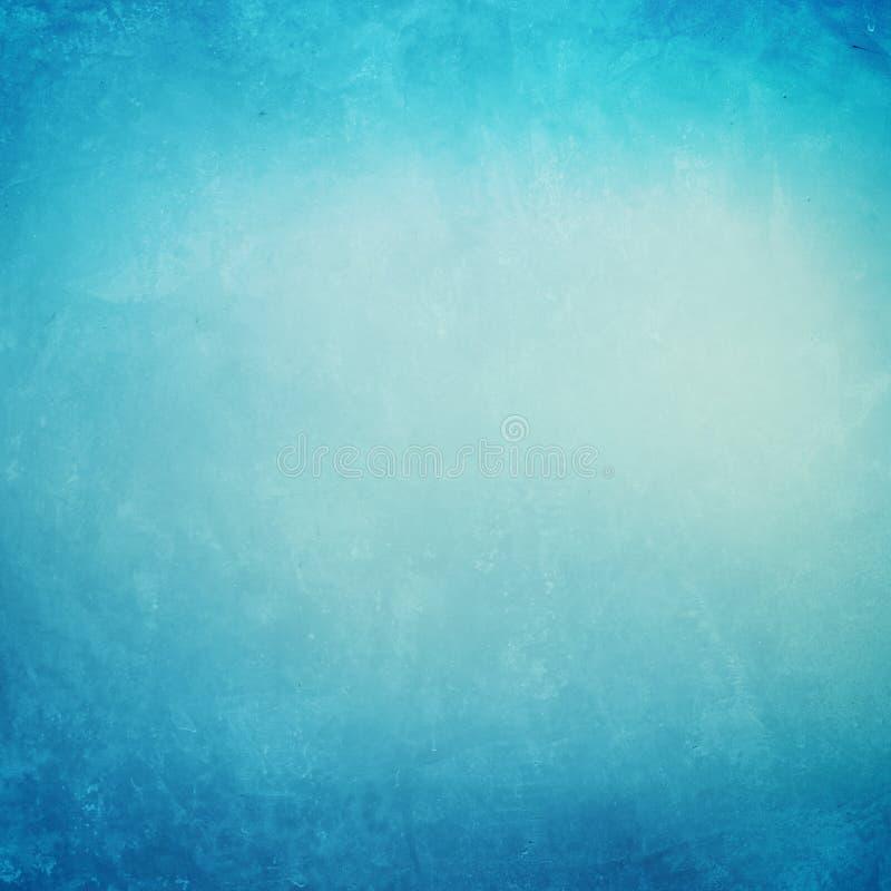 Betonowy błękitny grunge tło obrazy royalty free