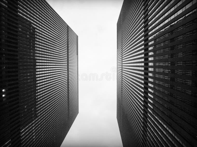 Betonowy miasto obrazy stock