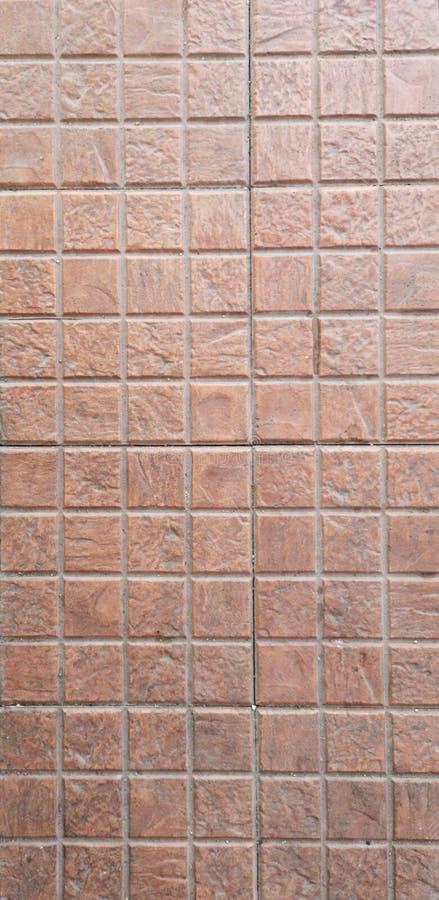 Betonowy pod?ogowy br?zu koloru t?a tekstury cementu materia? fotografia stock