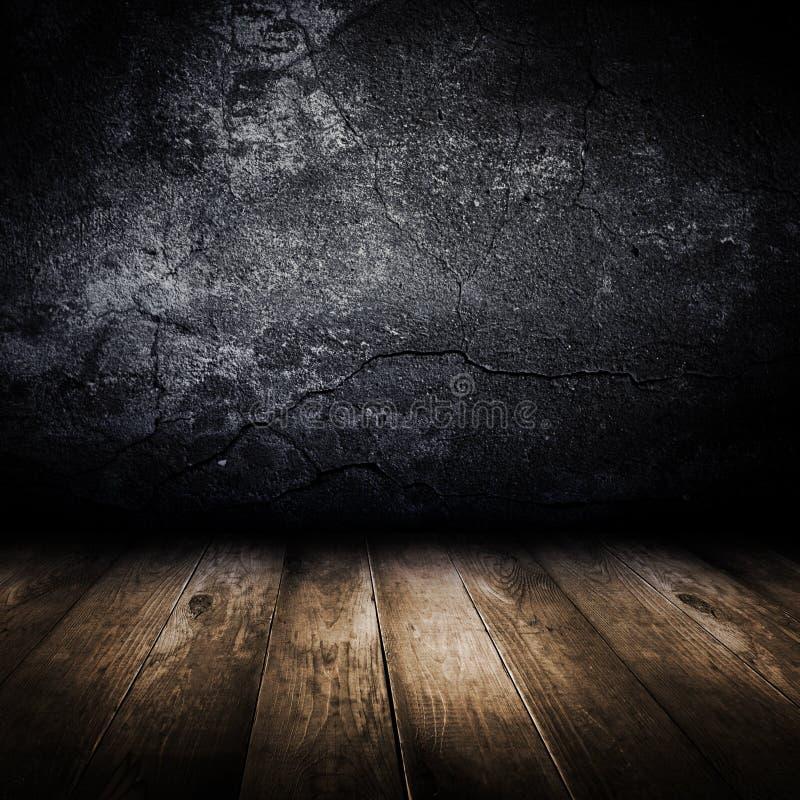 betonowy podłogowy stary ścienny drewniany fotografia royalty free